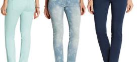 Stretch-Jeans perfekt zum Kombinieren nur 9,99 Euro – 3 Farben zur Auswahl!