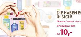 Knaller!!! Yves Rocher: 5 Produkte für nur 10 €