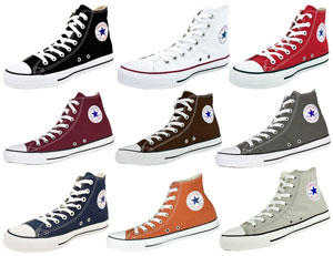 Converse Chuck Hi Collage