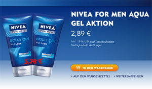 Nivea for Men Aqua Gel