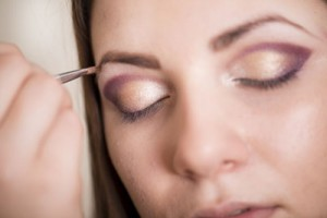 Augenbrauen schminken Augenbrauenpuder