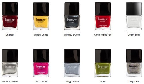 butter London 15 prozent Nagellacke