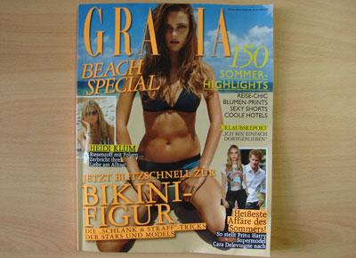 Glossybox Juni 2013 Grazia