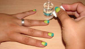 Ombre Naisl Top Coat