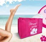 Kostenlose Gilette Venus Strandtasche