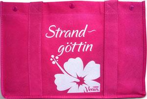 Kostenlose Gillette Venus Strandtasche