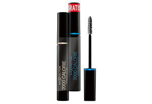 Max Factor 2000 Calorie Dramatic Volume Mascara black + waterproof-Variante gratis