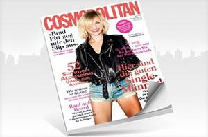 Cosmopolitan Jahres Abo 75 Prozent günstiger