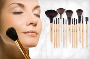 Ellore Femme Make-up und Bürsten-Set 73 Prozent Rabatt