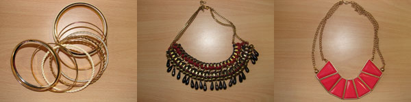 Shoppingtag Berlin Primark Schmuck