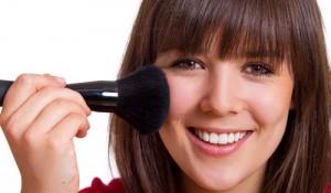 Make up auftragen