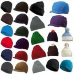 Mützen 8 Modelle verschiedene Farben