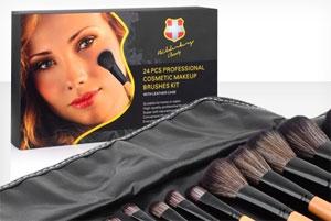 Bilderberg Make-up Pinsel-Set-24 Teile 73 Prozent reduziert