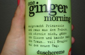 DM HaulOne Ginger morning Spruch