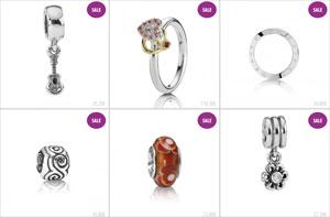 Pandoraschmuck 30 Prozent günstiger