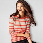 Streifenpullover Damen 50 Prozent günstiger