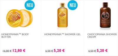 The Body Shop 20 Prozent Rabatt Winter-Lieblinge Produkte