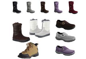 Lands End Winter Boots Schuhe