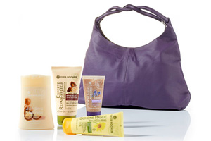 Yves Rocher SOS-Set zarte Haut mit Handtasche 56 Prozent günstiger