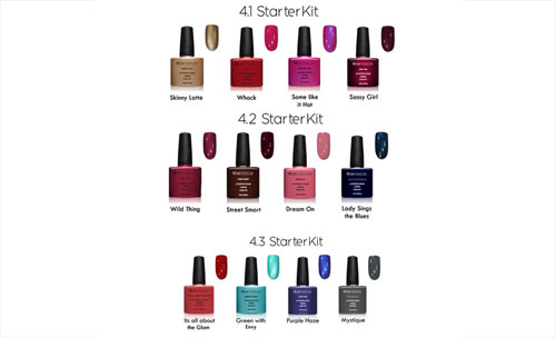 Colour Gel Polish Starter Kit Nagellack Farben