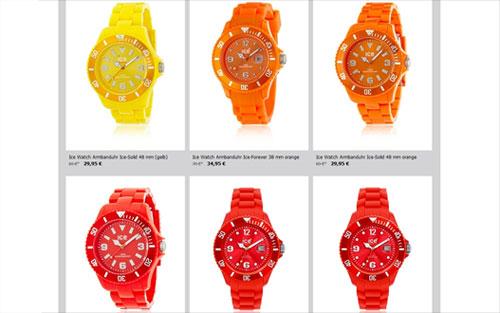 Ice Watch Uhren Farben