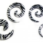 Dehnschnecken-Set Zebra von firetti 60% günstiger