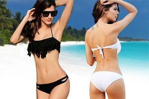 Fransen Bikini Push up