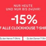 C und A Clockhouse Rabatt