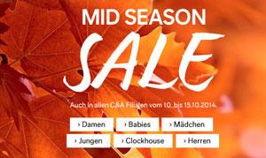 C und A Mid Season Sale