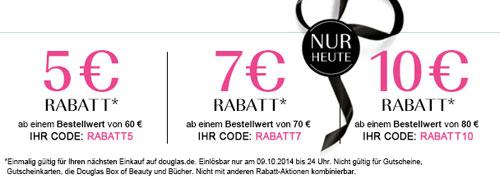 douglas rabattcode goodies
