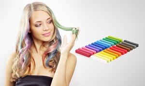 Halloween Haare Farben Haarkreide