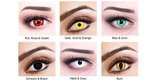 gruselige kontaktlinsen f r halloween in verschiedenen farben schon ab 9 99 stylingdeals. Black Bedroom Furniture Sets. Home Design Ideas