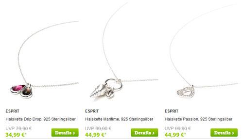 Esprit Schmuck Sale Auswahl