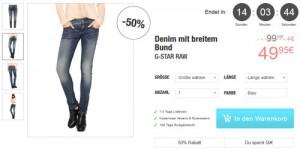 G-Star Jeans Damen günstiger Angebot