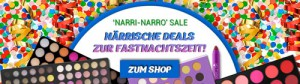 bhcosmetics Karneval Make-up Sale
