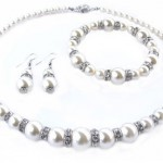 Schmuck Set Swarovski Perlen
