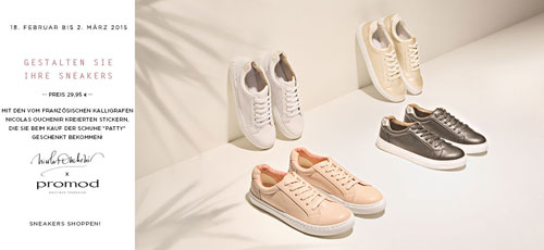 Sneaker kreieren Nicolas Ouchenir