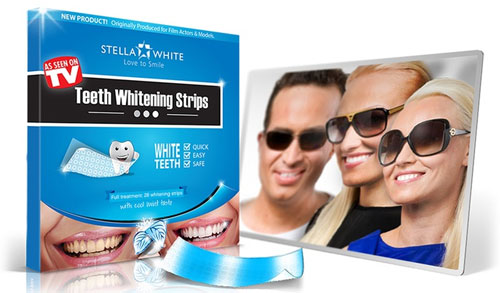 Stella White Strips Home Bleaching