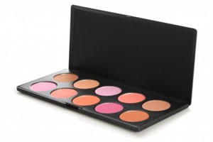 BHCosmetics 10 Color Professional Rouge Palette
