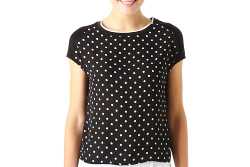 Promod Shirt Punkte
