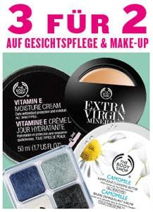 The Body Shop 3-für-2-Aktion