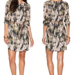 TOM TAILOR Tunika-Kleid mit Safari-Print