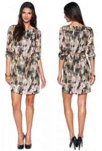 TOM TAILOR Tunika-Kleid mit Safari-Print