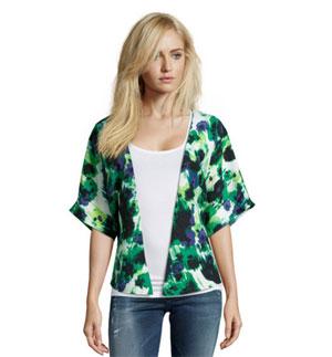 tom tailor denim kimonojacke mit abstraktem all over print f r nur 19 95 statt 59 95. Black Bedroom Furniture Sets. Home Design Ideas