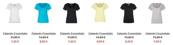 Basic Shirt Farbauswahl