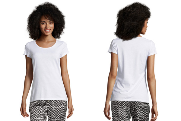 Basic-Shirt in großen Größen und neutralen Farben nur 4,95 (5 Euro gespart)