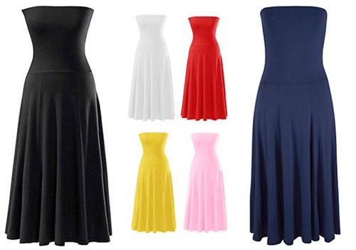 Rock Kleid variieren Farben