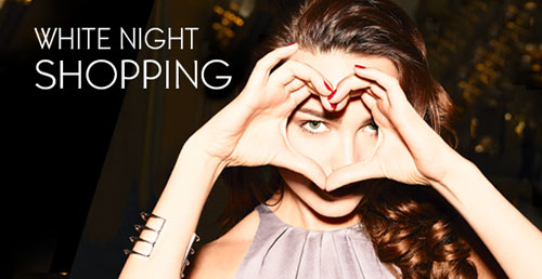 Yves Rocher White Night Shopping Gratis Produkt