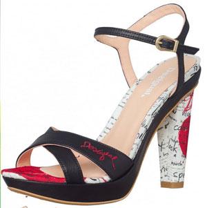 Desigual Schuhe Ausverkauf High Heel Sandalette
