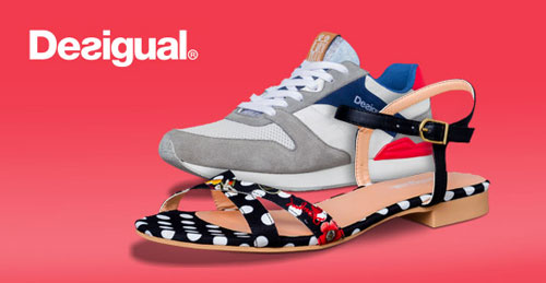 Desigual Schuhe Ausverkauf